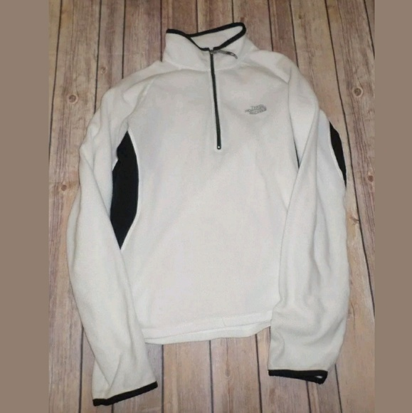 01a2b2ae6 M The North Face Women's White Fleece Pullover